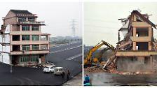 China und das Haus auf der Autobahn: Der erfolglose Kampf des Herrn Luo
