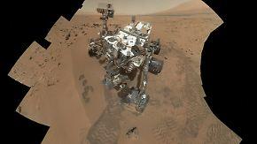 Leben auf dem Mars?: Rover entdeckt organische Teilchen