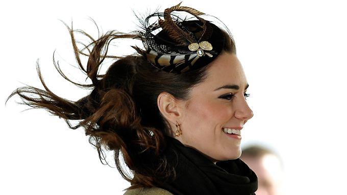 Die Nachricht von ihrer Schwangerschaft ist in Großbritannien deutlich mehr als ein laues Lüftchen: Kate Middleton.