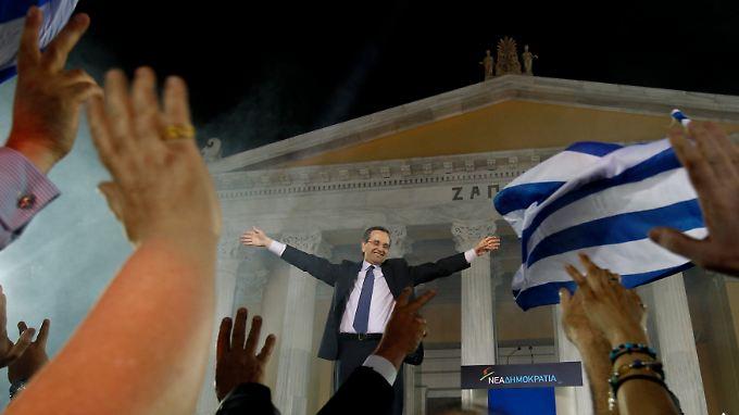 """Samaras glaubt an eine griechische """"Erfolgsgeschichte""""."""