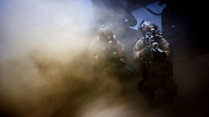 """US-Spezialkräfte in einer Szene von """"Zero Dark Thirty""""."""