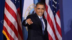 """Der US-Präsident steht ganz oben auf der """"Forbes""""-Liste."""