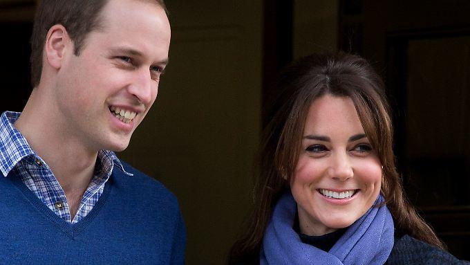 Vitamin B gegen Schwangerschaftsübelkeit: William holt Kate aus Klinik ab