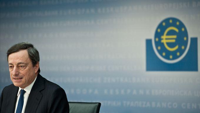 """Mario Draghi: """"Wir haben bereits sehr viel getan."""""""