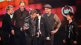 Die beste Band des Jahres: Die Toten Hosen.