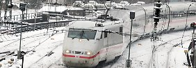 Menschliches Versagen: ICE verfährt sich in Köln