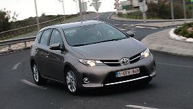 Das Gesicht des Auris soll Vorbild für kommende Toyota-Modelle sein.