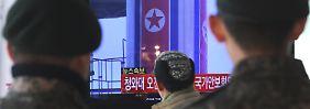 Pjöngjang bejubelt Raketenstart: Nordkorea trotzt allen Warnungen