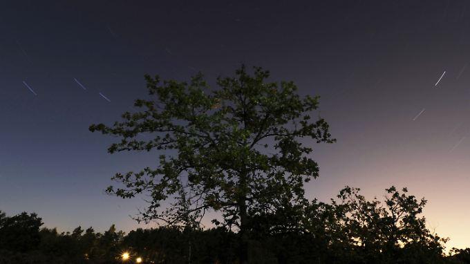 Geminiden bringen recht viele und teilweise auch besonders helle Meteore hervor.