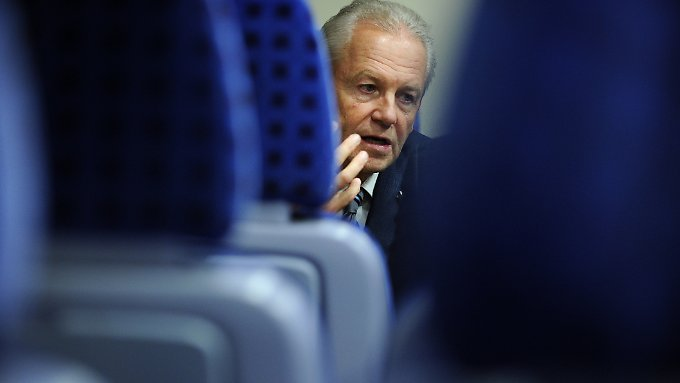 Bahnchef Rüdiger Grube hält Stuttgart 21 weiter für wirtschaftlich.