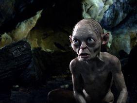 """Natürlich darf er auch im """"Hobbit"""" nicht fehlen: Gollum."""