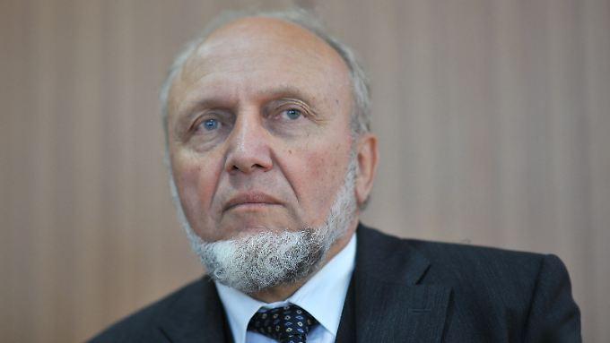 Hält die jüngste geldpolitische Entscheidung von EZB-Chef Draghi für einen Fehler: Hans-Werner Sinn.