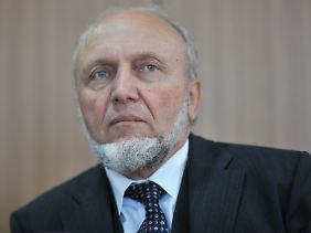Hans-Werner Sinn, Präsident des Ifo-Instituts.