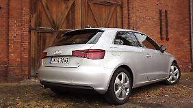 Keine Experimente. Auch von hinten bleibt der A3 ein Audi.