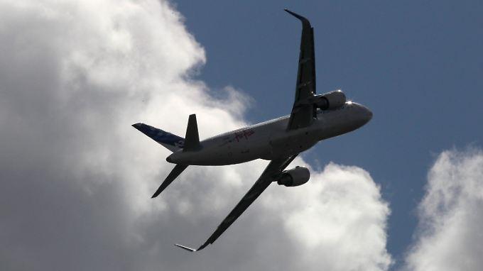 A320-Familie sammelt Aufträge für Airbus.