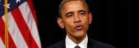 Obama stellt sich gegen Waffenlobby: Arbeit an strengerem Gesetz