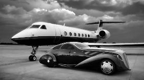 Die Aerodynamik scheint der Rolls-Royce von einem Düsen-Jet übernommen zu haben.