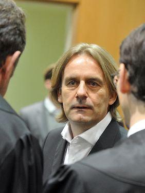 Michael Rook Anfang Dezember im Schwurgerichtssaal in Augsburg.