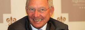 """Weltsprache schlechtes Englisch: Schäuble sagt """"sorry"""""""