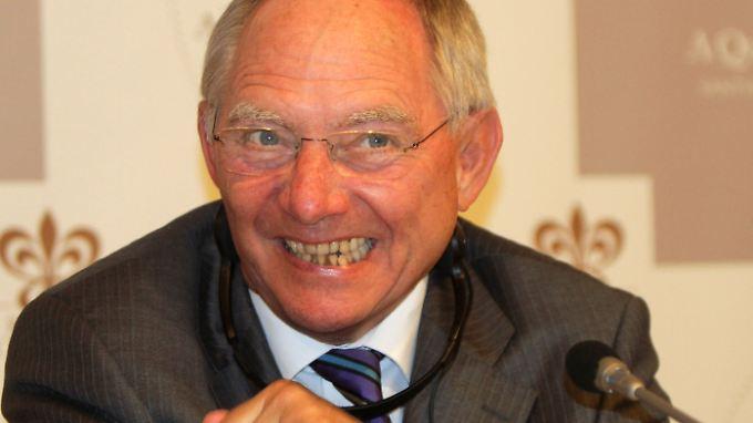 Weiß um seine Schwächen: Wolfgang Schäuble