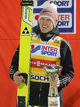 Severin Freund könnte bei der Vierschanzentournee allen davonspringen, glaubt Jens Weißflog.