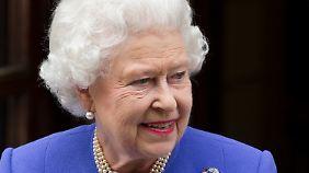 Die Queen ist verschnupft.
