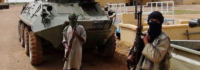 Islamistische Kämpfer in Nord-Mali.