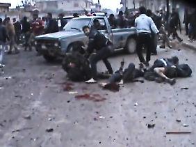 Am 23. Dezember bombardierte die syrische Luftwaffe eine Bäckerei - eine perfide Taktik.