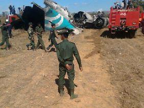 Auch die Piloten sind verletzt.