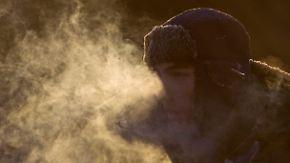Bis minus 57 Grad in Sibirien: Klirrende Kälte fordert Todesopfer