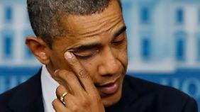 Obama vorzeitig aus dem Urlaub zurück: USA rasen auf Fiskalklippe zu