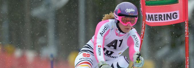 Spitzenresultat: Maria Höfl-Riesch.