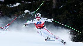 Einer von zwei Siegern: Der Österreicher Hannes Reichelt musste sich den Triumph teilen.