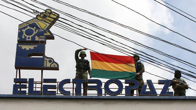 Iberdrola soll für die Tochter Electropaz entschädigt werden.