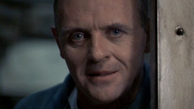 """Anthony Hopkins in einer seiner bekanntesten Rollen - als Hannibal Lecter in """"Das Schweigen der Lämmer"""" von 1991."""