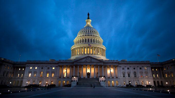 Das US-Kapitol: Hier werden Senat und Repräsentantenhaus über den ausgehandelten Kompromiss abstimmen.