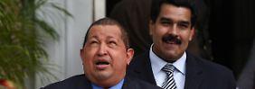 """""""Comandante"""" mit Schnurrbart: Maduro könnte Chávez folgen"""