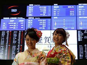 Tüchtig erholt und gut gelaunt: Nach den Feiertagen zum Jahreswechsel strömen die Anleger zurück an die Börse.