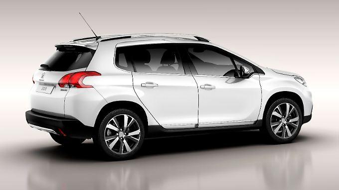 Der Peugeot 2008 tritt gegen Opel Mokka und Co. an.