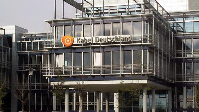 Die Zentrale des Fernsehkabelkonzerns  in Unterföhring bei München.