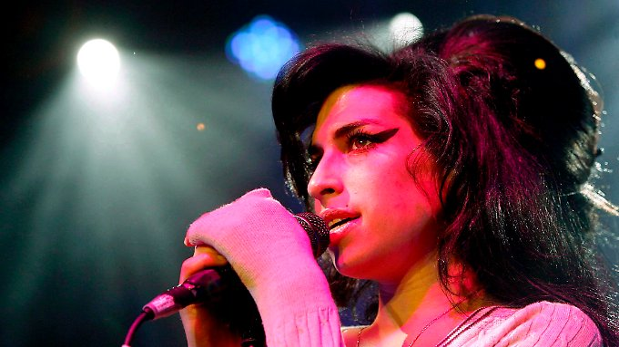 Amy Winehouse hatte Alkohol- und Drogenprobleme.