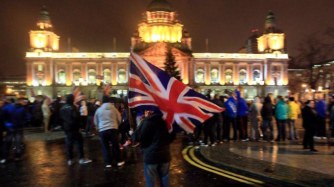 Es geht um mehr als den Union Jack: Der wieder aufflammende Konflikt in Nordirland wird andauern.