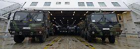 Die deutschen Waffen auf dem Weg in die Türkei: Die Fähre ist gemietet.