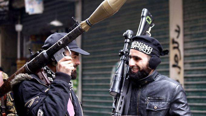 FSA-Kämpfer in Aleppo