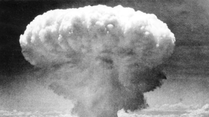Die bekanntesten Aufnahmen des Atombombenabwurfs stammen von der US-Armee.
