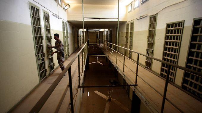 In diesem Gefängnis wurden die Häftlinge misshandelt.