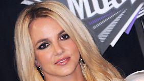 Spears bei den MTV Video Music Awards im August 2011.