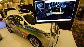 Consumer Electronic Show in Las Vegas: Autopilot führt durch den Stau