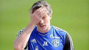 Schalke in der Krise: Jens Keller steht vor großer Aufgabe