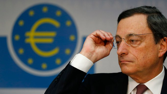 EZB-Chef Draghi lässt die Zinsschraube in Ruhe.